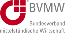 Logo der Bundesverbandes der mittelsändigen Wirtschaft.